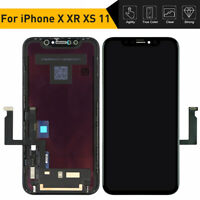 For iPhone 11 X XR XS OLED LCD Display Digitizer 3D Touch Screen Replacement Kit