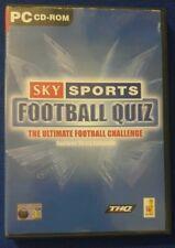 Sky Sports Football Quiz Das Ultimative Fussball Challenge PC Spiel Handbuch Spiele