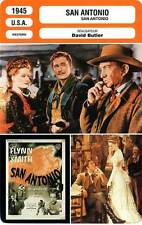 FICHE CINEMA : SAN ANTONIO - Flynn,Smith,Butler 1945