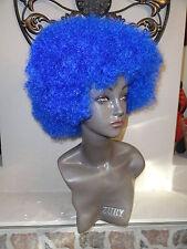 Afro Blue Medium Wig By Magic Touch. 100% Kanekalon fiber