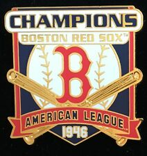 BOSTON RED SOX 1946 AMERICAN LEAGUE CHAMPIONS WILLABEE & WARD  SERIES PIN