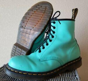 DR. MARTENS AIR WAIR 1460 Mint Green LACE-UP BOOTS (US M 10 US L 11 UK 9 EUR 43)