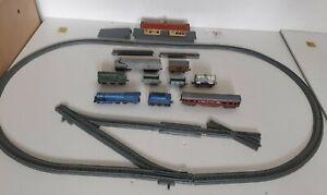 Vintage 000 Lone Star Loco,Train Set Pieces: Track,Locos,Wagons, Station,job lot
