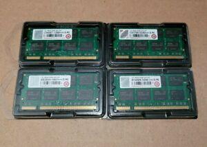 Transcend 1GB 2Rx8 DDR 333 SO B14509-3206 RoHS Memory Lot of 4