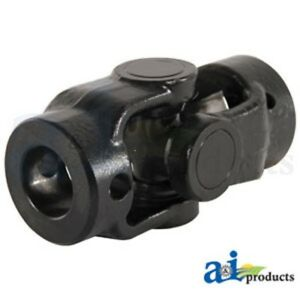"""To fit New Holland hay rake 256 258 259 55 56 57 universal joint 1"""" square end"""