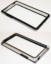 Bumper Tasche Schutz Hülle TPU Cover Schale Case für LG G7 (P700) Schwarz