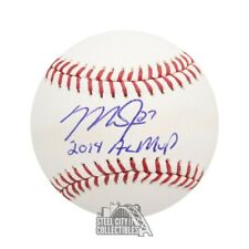 Mike Trout 2014 AL MVP Autographed Official MLB Baseball - MLB Hologram