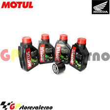 TAGLIANDO OLIO + FILTRO MOTUL 5100 10W40 HONDA 500 CB 2000
