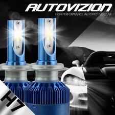 NEW 2x H7 388W 38800LM LED Headlight Kit Low Beam Head Light Bulbs 6500K