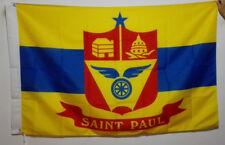 3'X5' Flag Banner USA Minnesota St. Paul City Brass grommets 90*150cm