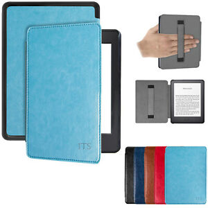 Slim Magnetic Leather Smart Case Cover for All Amazon Kindle Paperwhite 1-8 WiFi