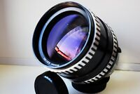 RARE ZEBRA CARL ZEISS JENA Sonnar 180 mm f/2.8 Medium format Pentacon SIX mount