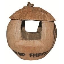 HANGING COCONUT BIRD FEEDER HOUSE GARDEN OUTDOORS