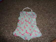 JANIE AND JACK GIRLS 6 ISLAND FLAMINGO SWIMSUIT