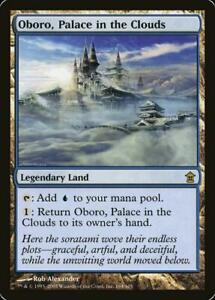 Oboro, Palace in the Clouds - NM - Rare - MTG Saviors Of Kamigawa