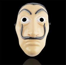 La Casa De Papel Face Mask Salvador Dali Mascara Money Heist Cosplay Props Gift