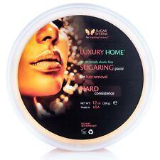 Sugaring paste home use HARD 12 oz for BRAZILIAN BIKINI dark hair removal waxing