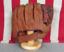 Vintage 1950s Draper Maynard Leather Baseball Glove Mitt Curt Simmons Phillies