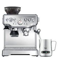 Sage Espressomaschine the Barista Express Siebträgermaschine Edelstahl