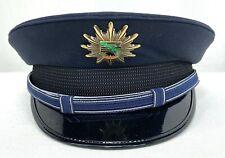 Vintage German Police Dress Hat