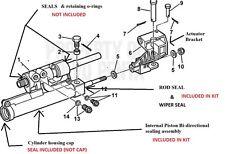 Actuator Repair kit Volvo Penta Power Steering cylinder 3860726 3858128 3856716