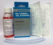 Shimano Entlüftungsset SM-DISC M575 Service Kit Scheibenbremsen Mineralöl 100ml