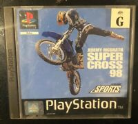 Jeremy McGrath Super Cross 98 Sony PS1 PLAYSTATION 1 Pal Complete With Manual