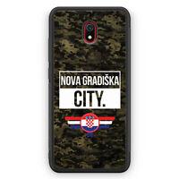 Nova Gradiska City Camouflage Kroatien Silikon Hülle für Xiaomi Redmi 8A Moti...