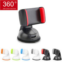 Universal 360° Car Holder Stand Mount Windshield Bracket For Mobile Cell Phone