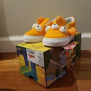 New Vans x Simpsons Blinky 3 Eye Fish Slip-On Toddler Shoes VN0A4VJV16W 5 6 6.5