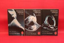 Cinquante nuances de Grey - La Trilogie - E L James - Livre - Occasion