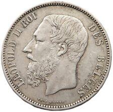BELGIUM 5 FRANCS 1867 #t51 095 XYZ