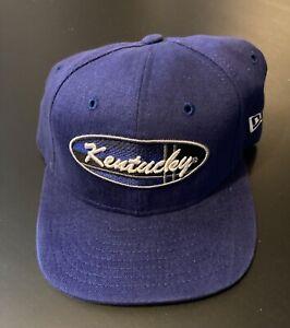Vintage Kentucky Wildcats New Era College Baseball Hat - Adjustable