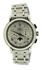 Zenith El Primero Chronograph Moon Phase Stainless Steel Watch 02.0240.410