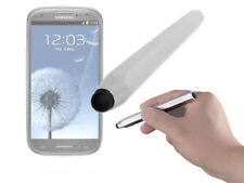 Large Silver Easy Grip Stylus Pen For Samsung Galaxy S3 / S4 Mini Smartphone