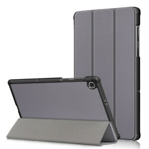 Grey Case For Lenovo Tab M10 Plus 10.3in FHD Tablet Cover Leather Stand