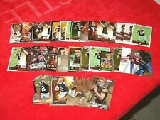 JOHNNY MANZIEL BROWNS TEXAS A&M RC ROOKIE LOT OF 33 CARDS (18-59)