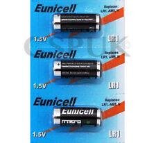 3x ORIGINALE Eunicell LR1 BATTERIE equivalenti MN9100 / AM5 / N 1,5 V CONFEZIONE BLISTER