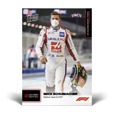2021 TOPPS NOW FORMULA ONE ROOKIE RC CARD #2 *MICK SCHUMACHER* DEBUT RACE IN F1