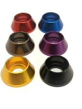 M8 Load Spreading Cone Washer Anodised Aluminium - 9 Colours