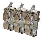 MULTICAM MOLLE 5.56 mm open top + Pistol Triple Kangaroo Mag Pouch (CONDOR MA55)
