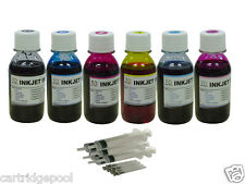 6x4oz Bulk Refill ink for Epson T048 R300 R300M R320