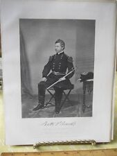Vintage Print,NATHANIEL PRENTICE BANKS,Gallery Eminent Americans,Alonzo Chappel