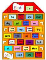 reception or year one literacy game to learn key words perfect for eyfs and ks1