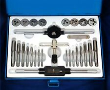 28 PCS METRIC TAP WRENCH AND DIE SET CUTS M3-M12 BOLTS + HARD CASE