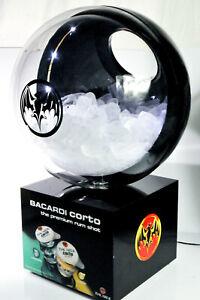 Bacardi Rum, Corto LED Eiswürfelbehälter, Flaschenkühler, Leuchtreklame, Leuchte