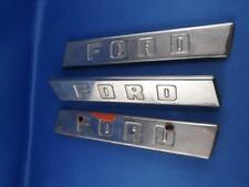 FORD TRUCK SIDE HOOD EMBLEMS LEFT RIGHT LETTERS BAR REPAIR REPLACE PARTS LOT 3