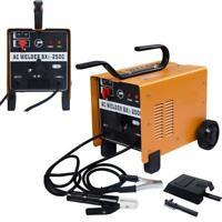 New 250 AMP Welder Flux Core AC Welding Machine Set 110/220V