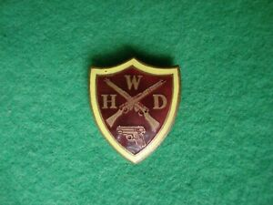 WW2 Home Front Badge WHD Womens Home Defence HG Home Guard auxiliaries badge