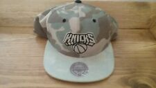 Mitchell & Ness New York Knicks camouflage Baseball Cap Adjustable New